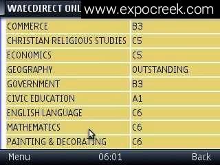 Waec expo proof